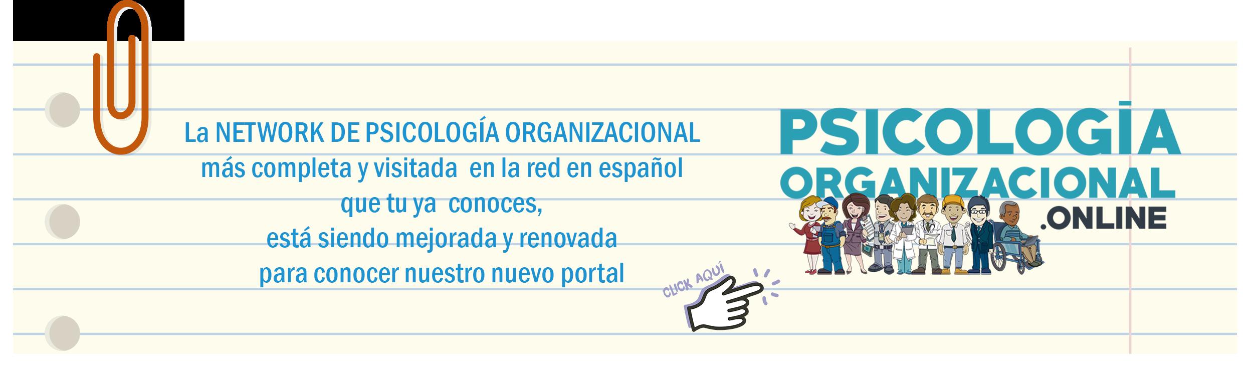 Psicología Organizacional / Dirección de Personal